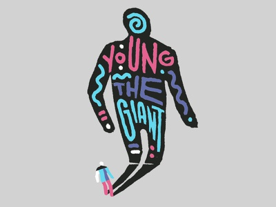 YTG merch illustration young the giant
