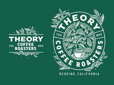 Theory Coffee Roasters illustration apparel coffee
