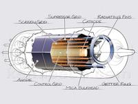 Vacuum tube cutaway