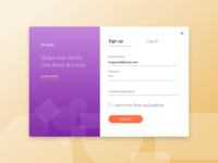 Sign Up  001