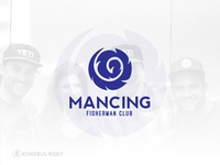 Mancing a Fisherman Club Logo Design