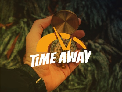 Time Away Logo Design for Party Supplies Company