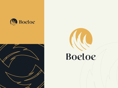 Boeloe Feather Logo Design