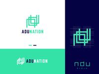 Adunation - Real Estate Construction Company Logo Design
