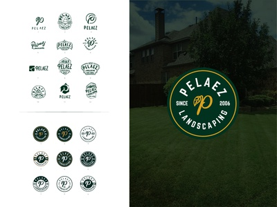 Logo Design Project for Pelaez Landscaping
