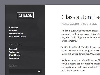 Cheese Theme wordpress lato theme blog magazine wp wordpress theme