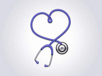 Healthcare Icon stethoscope icon healthcare heart health medicine