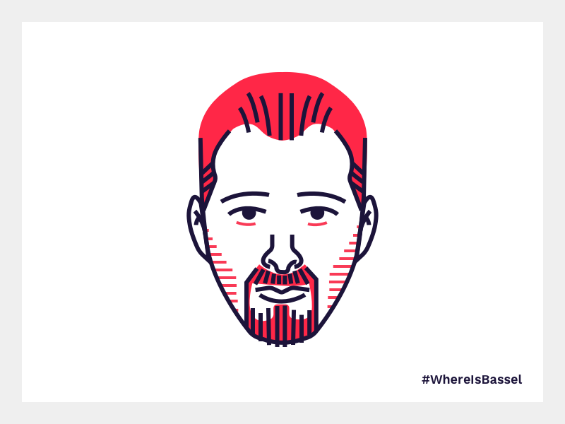 #WhereIsBassel competition syria creativecommons bassel character face illustration
