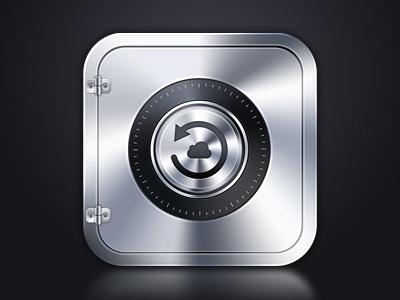 Safe iOS Icon ios app ios icon application safe backup