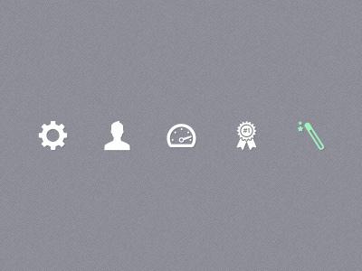 Pictograms pictogram picto icon user icon cog magic