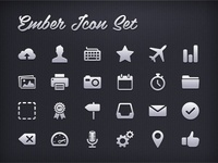 Ember Icon Set