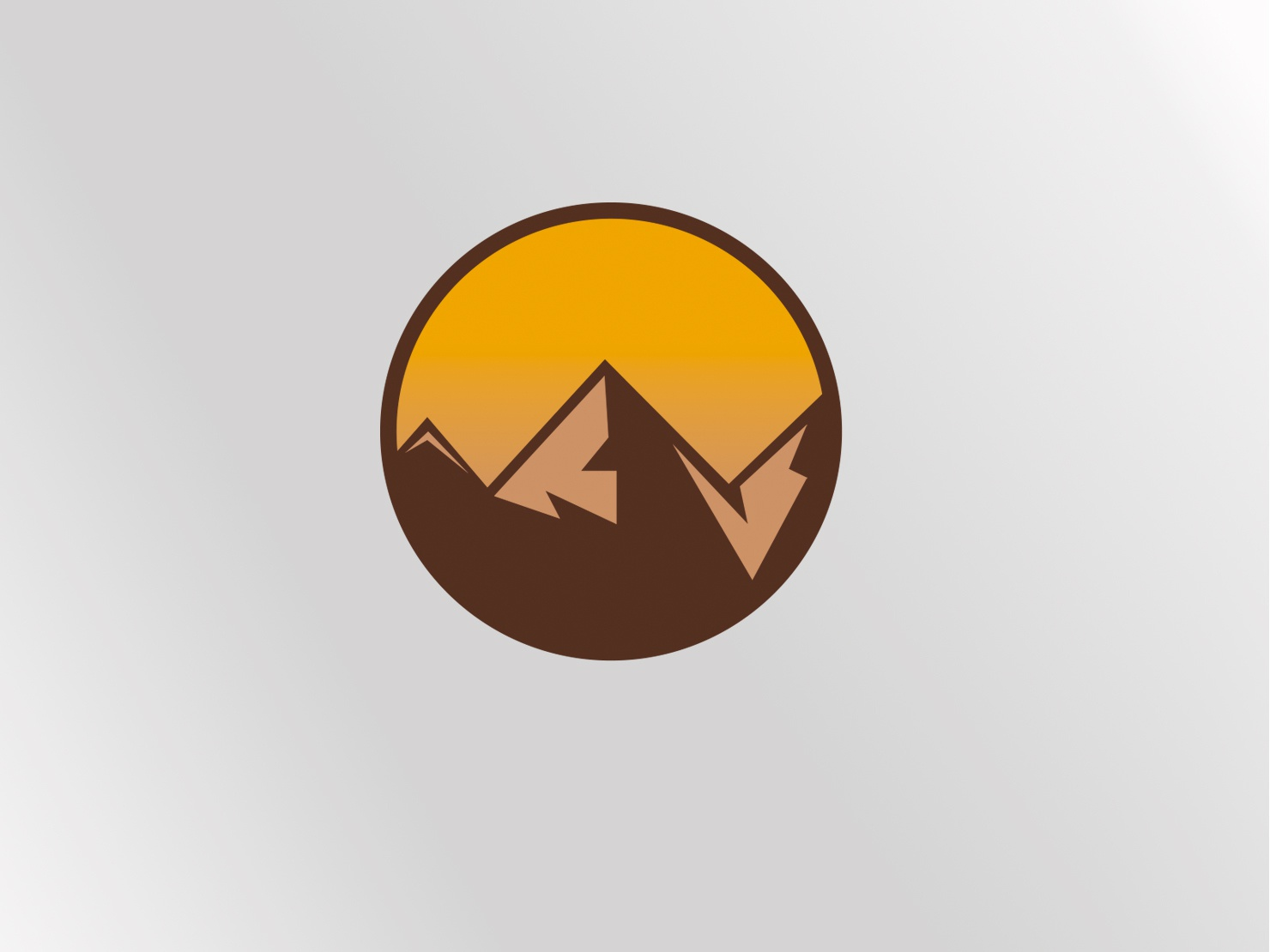 Enviromental sore environment design mountain logo mountain illustrator branding logodaily logodesign logo a day logo logo design