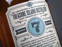 Bender's Rye Back Label