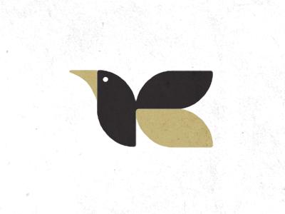 Logo Exploration: Flying Creature 03 logo flying creature illustration
