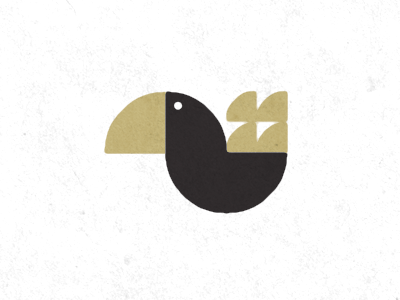 Logo Exploration: Flying Creature 06 logo pelican illustration