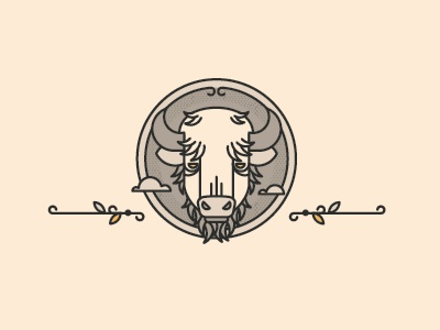 Buffalo buffalo illustration