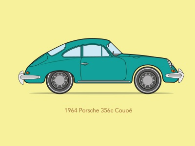 Porsche porsche vector illustration retro car art iconic classic