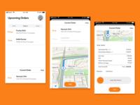 Delivery Executive App