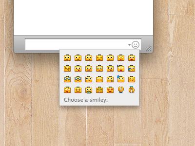 Micro Servbot Emoticons ichat servbots download emoticons smileys