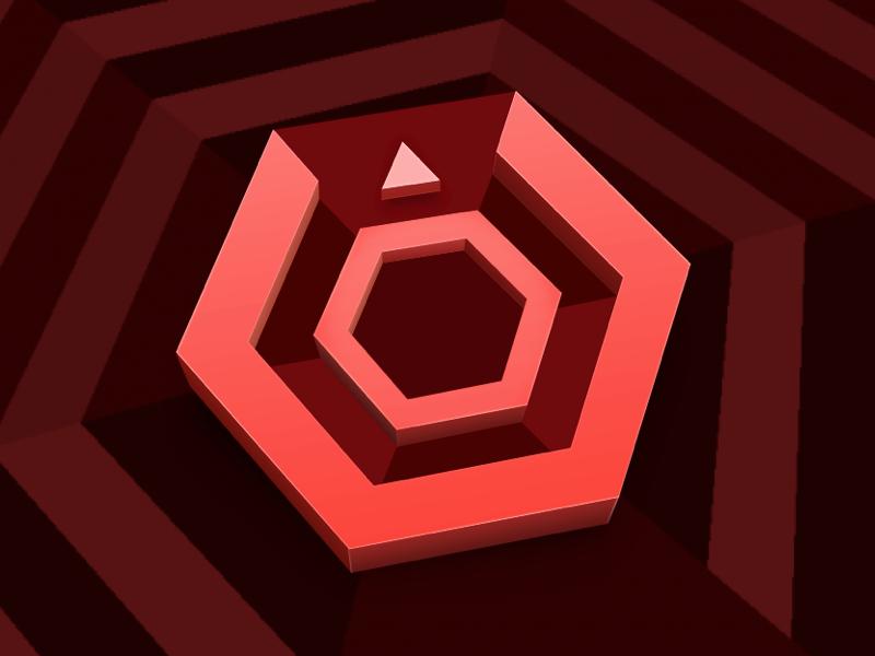 super hexagon - 800×600