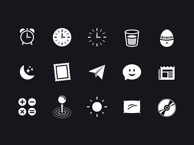 Shortcuts Glyphs Pt.1 icon design shortcuts glyph ios icon