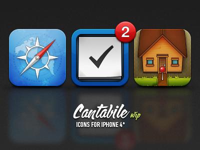 Cantabile iphone icon wip cantabile