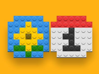 Lego! ios lego icons website