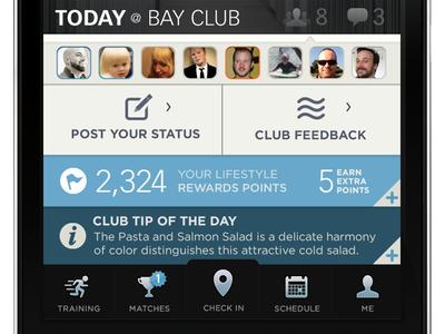 Bay Club New Dashboard