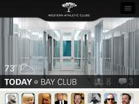 Bay Club New Dashboard Top