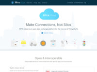 ARTIK Cloud Website