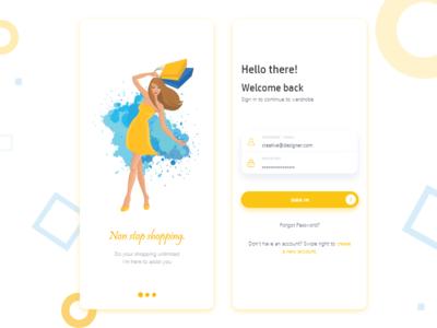 Shopping - Mobile Design