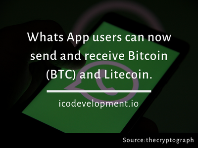 Whats App Users Can Now Send And Receive Bitcoin And Litecoin. cryptocurrency exchange cryptocurrency blockchain cryptocurrency blockchain ltc litecoin btc bitcoin whatsapp