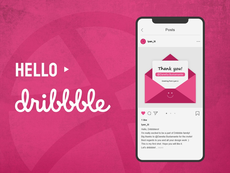Hello dribbble hello dribble debut shot debut invites thanks taiwan invitation first shot first dribbble