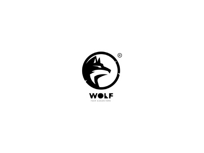 Wolf Logo Design designer branding logos vector logodesign flat illustration illustrator brand icons icon graphicdesign logo logotype wolf logo wolf