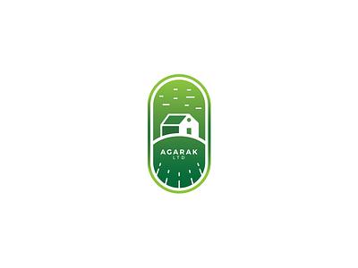 Agarak LTD Logo Design logos illustration design illustrator logodesign village farm company brand vector logo design rancho icon graphicdesign logotype logo