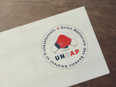 Unbap logo identity brand boxeurs adobe photoshop adobe illustrator graphic design logo