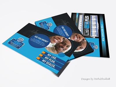 Car Leaflet Design car leaflet vector typography branding illustration corporate profesional flyer design