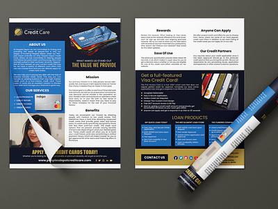 Business Flyer Design For Company or Agency creative design graphic design modern realseste leaflet flyer idea concept gold blue icon ui design branding vector logo profesional corporate brochure design flyer design
