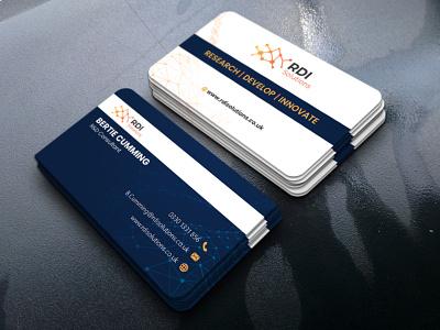 Corporate Unique Business Card Design business cards modern logo creative design unique coporate businesscarddesign card bcard business card businesscard
