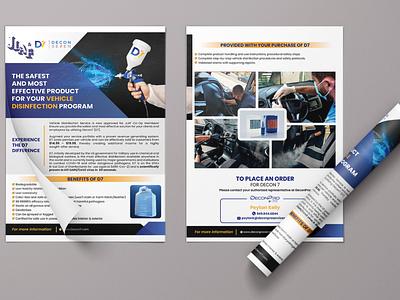 JLAF Flyer illustration creeative flat design graphicdesign professional corporate flyer leaflet flyer