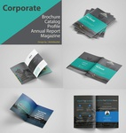 Corporate Real Estate Brochure Design