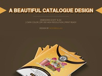 A Beautiful Product Catalogue Design
