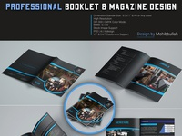 Professional Booklet & Magazine Design