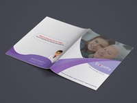 Health Care Bifold 4 Pages Brochure Design