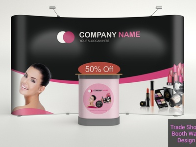Pop Up, Backdrop, Trade Show, Roll up, Advertising Banner Design