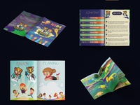 Professional Children Cartoonist Book Design