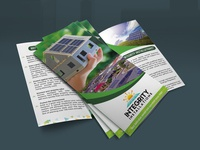 I will design Professional Solar Power Project Trifold Brochure