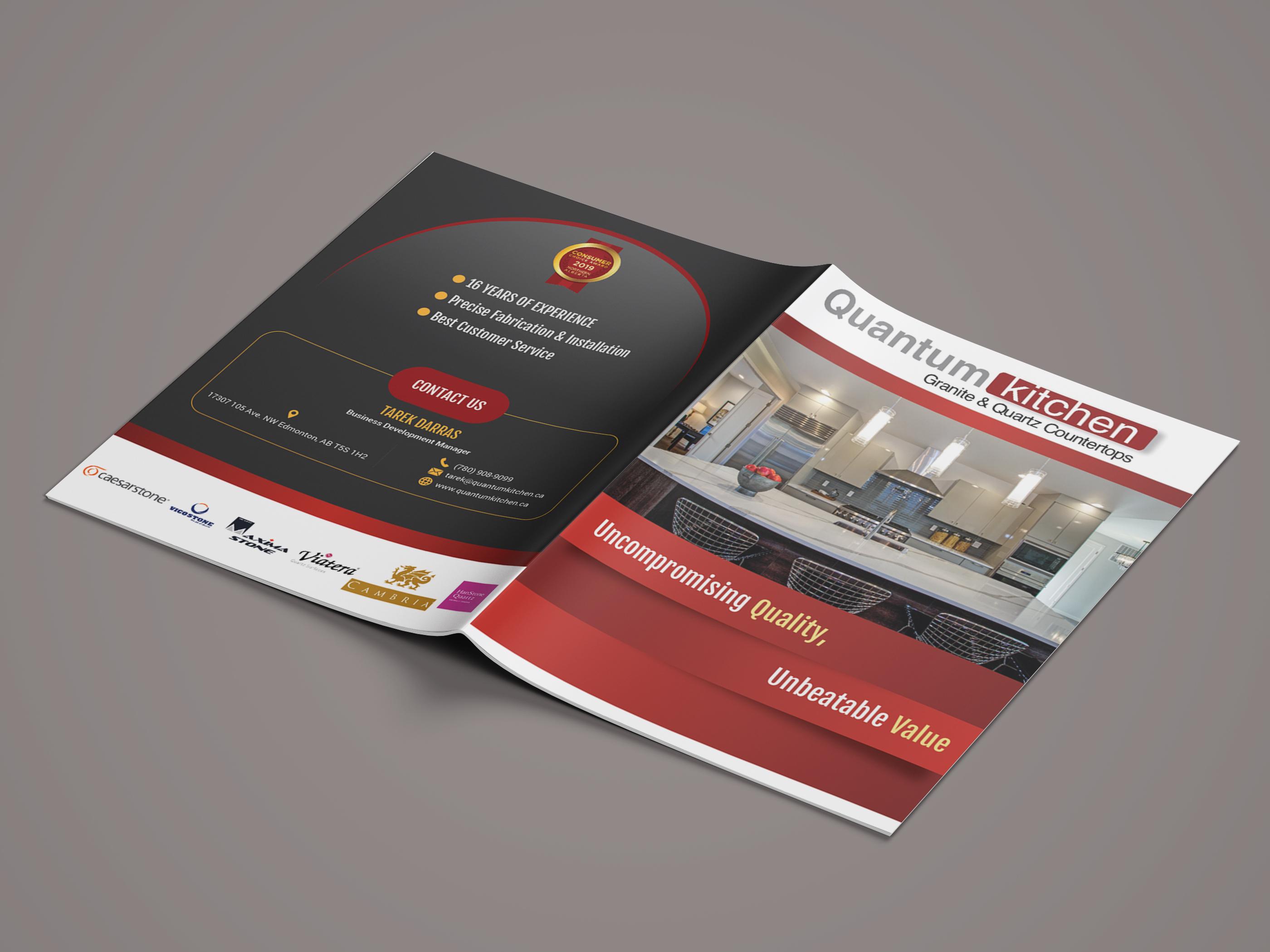 Professional Bifold Brochure Design by Mohibbullah Khandakar Shohag