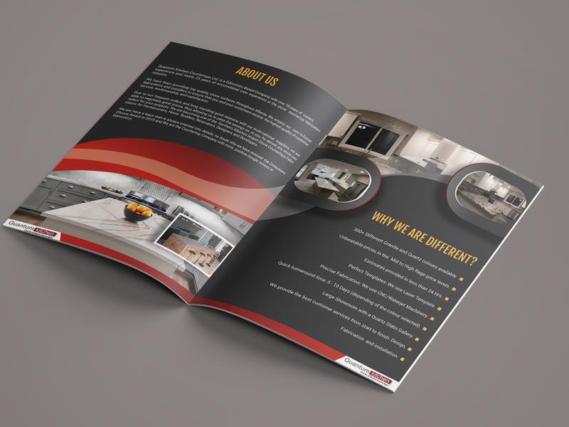 Professional Bifold Brochure Design free mockup mockup bifold brochure design magazine booklet design