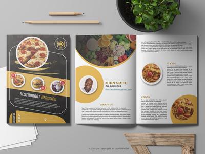 Professional Restaurant Menu Catalogue Design